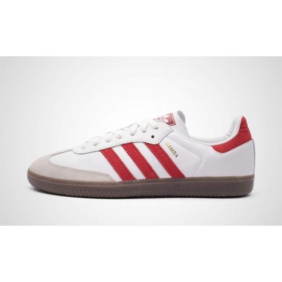 Og Moya Y Hombre Adidas Samba Blanco Deportes Zapatillas Rojo 8EnPwqFER