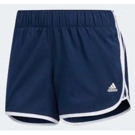 "Pantalón running adidas M10 woven short 4"" azul mujer"