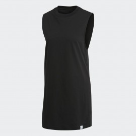 Camiseta adidas XBYO Elong tank negro mujer