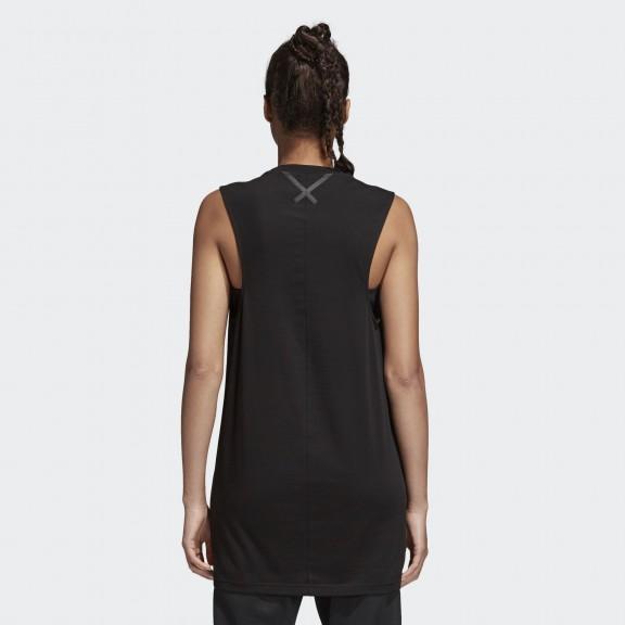 Camiseta Adidas Xbyo Elong Tank Negro Mujer - Deportes Moya b4222ceb7e2