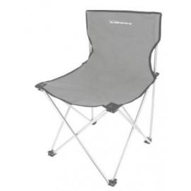Silla camping plegable Elementerre BC020 gris