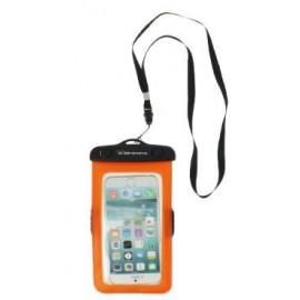 Funda Smartphone estanca Elementerre Shel naranja