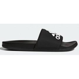 Chancla adidas Adilette cloudfoam plus logo negra adulto