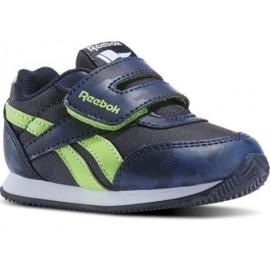 Zapatillas Reebok Royal Classic jogger 2  Kc azul verde bebe