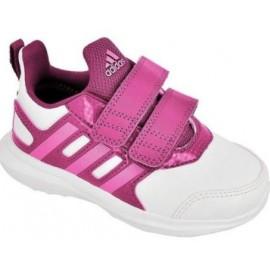 Zapatillas Adidas Hyperfast 2.0 Cf I blanco rosa bebe