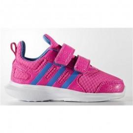 Zapatillas adidas Hyperfast 2.0 Cf rosa azul bebe