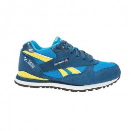 Zapatillas Reebok GL 2620 azul amarillo junior