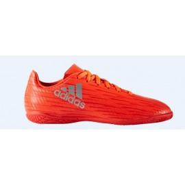 Zapatillas de fubol sala adidas X 16.4 Indoor J naranja jr