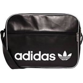 Bolso Adidas Airliner vintage negro