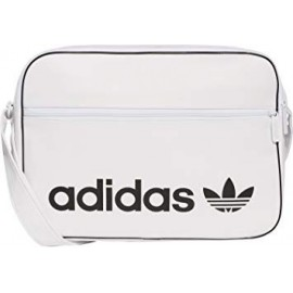 Bolso Adidas Airliner vintage blanco
