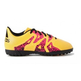 Zapatillas futbol sala adidas X 15.4 Tf J naranja junior
