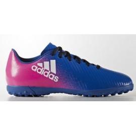 Botas futbol adidas X 16.4 tf j azul junior