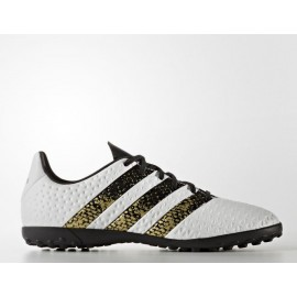 wholesale dealer 156b2 5765c Botas fútbol adidas Ace 16.4 Tf J blanco junior