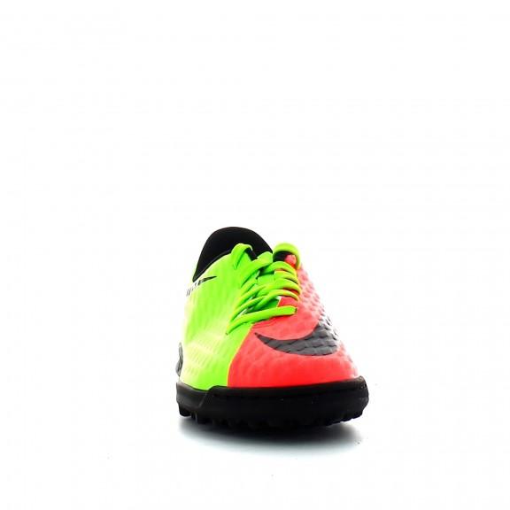 Zapatilla Fútbol Nike Jr Hypervenomx Phade Iii Tf Verde - Deportes Moya 780f8ae5631df