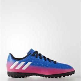 Botas futbol  Adidas Messi 16.4 tf j  azul junior