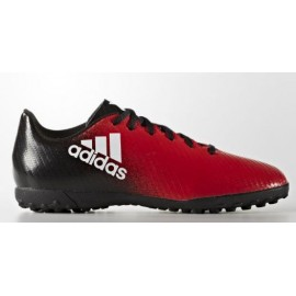 Botas futbol adidas X 16.4 Tf J rojo junior