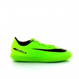Zapatilla fútbol NikeJr Mercurialx Vortex III Ic fluor jr