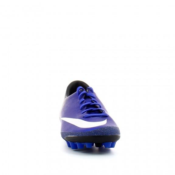 2bf7e1177d706 Bota de Fútbol Nike Mercurial V Cr7 Ag-R Azul Hombre286 - Deportes Moya