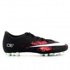 Botas fútbol Nike Mercurial V CR7 Ag-r negro hombre