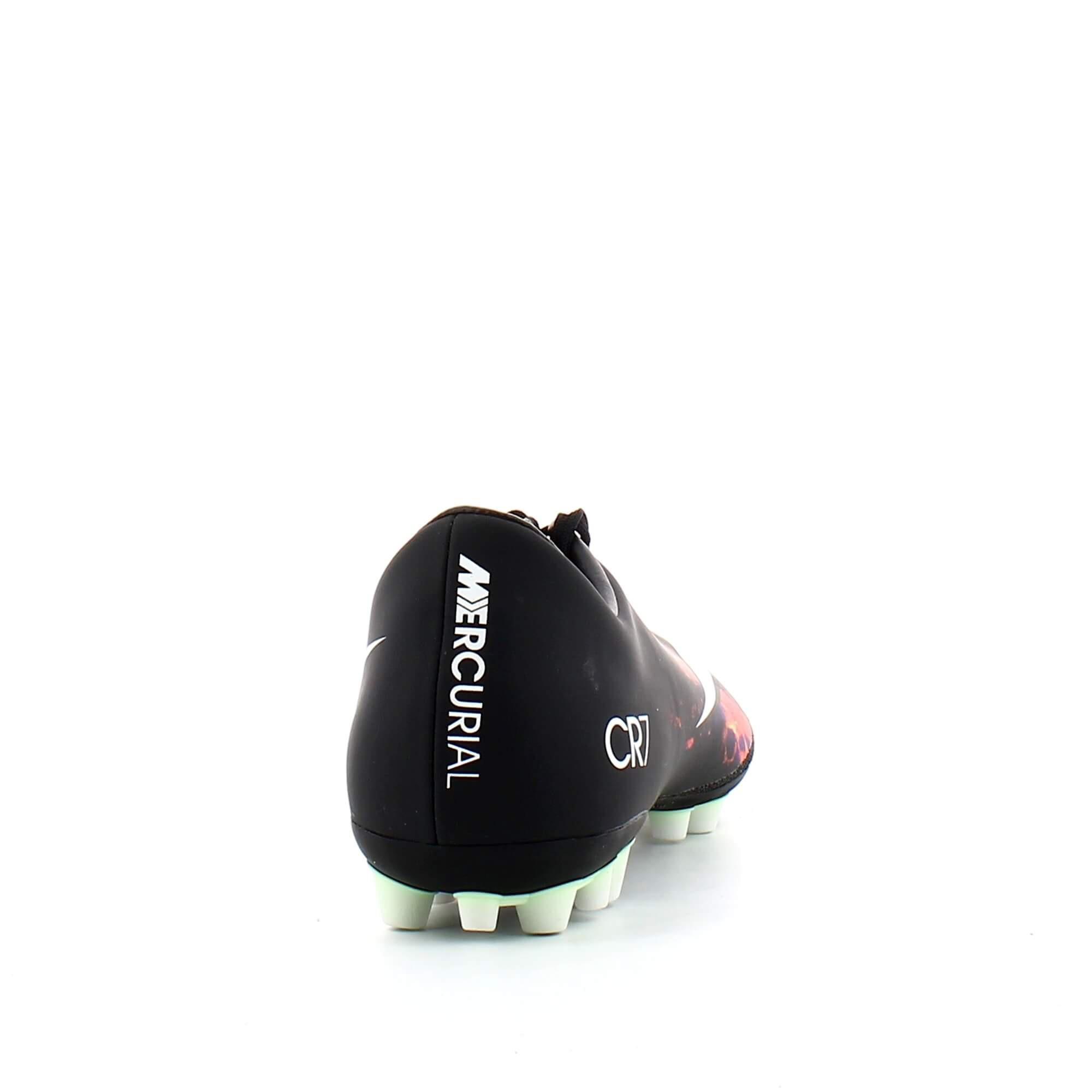 Botas Fútbol Nike Mercurial V Cr7 Ag R Negro Hombre