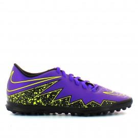 Botas  fútbol Nike Hypervenom Phade II Turf morado hombre