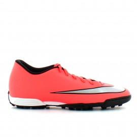 Botas fútbol Nike Mercurial Vortex II Tf salmon hombre