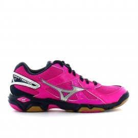Zapatillas Mizuno Wave Twister 4 W rosa mujer