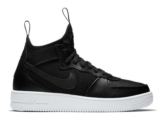 afa3568e Zapatilas Nike Air Force 1 Ultraforce Mid Negro Hombre - Deportes Moya