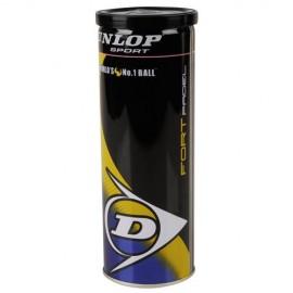Bote pelotas Dunlop Tb Fort  Padel