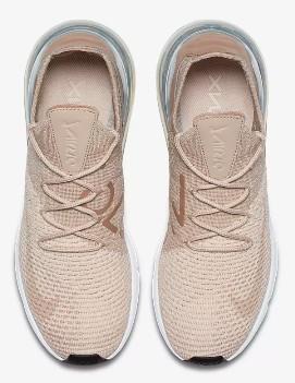 3f6ac8e088a23 Zapatillas Nike Air max 270 flyknyt salmón mujer - Deportes Moya