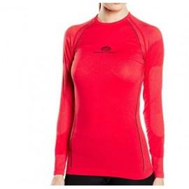 Camiseta termica  Pyros rojo mujer