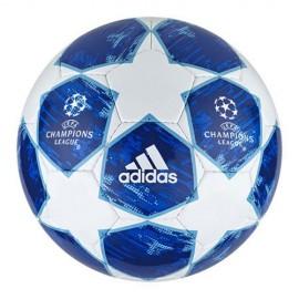 Balón de fútbol Adidas Finale 18 Spor blanco azul