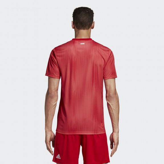 Camiseta Fútbol Adidas Real Madrid 3ª 2018 19 Roja Hombre - Deportes ... cf3b3e4a81e4d