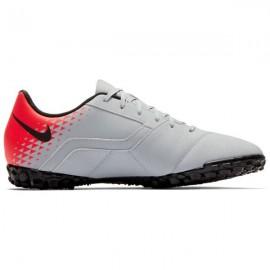 Zapatillas de fútbol Nike Bombax (TF) gris/negro hombre