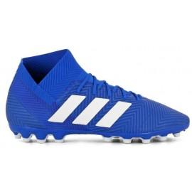 Bota fútbol adidas Nemeziz 18.3 AG azul adulto