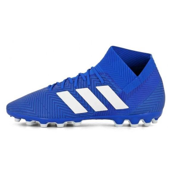 Bota Fútbol Adidas Nemeziz 18.3 Ag Azul Adulto - Deportes Moya 8f9ba4afe6554