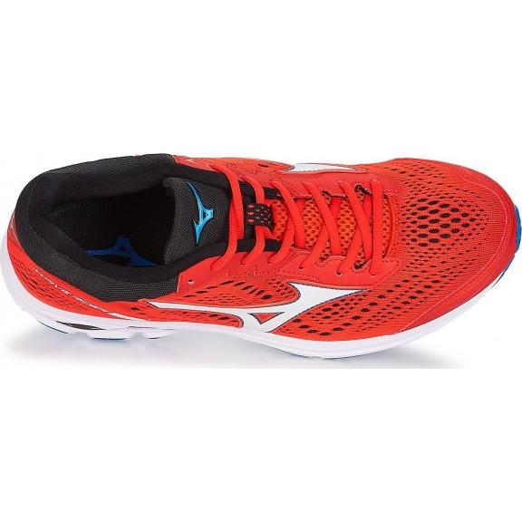 Zapatillas Running Mizuno Wave Rider 22 Rojo Blanco Hombre ... ccecf591454