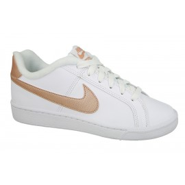 Zapatillas Nike Court Royale blanco/beige mujer