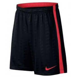 Pantalón fútbol Nike Academy negro/rojo niño
