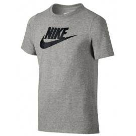 Camiseta Nike Crew futura icon gris junior