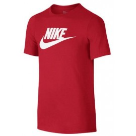 Camiseta Nike Crew futura icon rojo junior