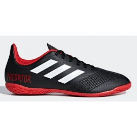 Zapatillas fútbol Adidas Predator tango 18.4 IN negra niño
