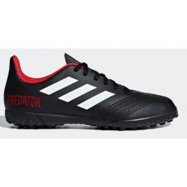 Zapatillas fútbol adidas Predator tango 18.4 TF negra niño