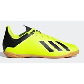 Zapatillas fútbol sala adidas X Tango 18.4 IN amarillas niño
