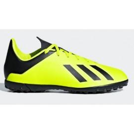Zapatillas fútbol adidas X Tango 18.4 TF amarillo niño