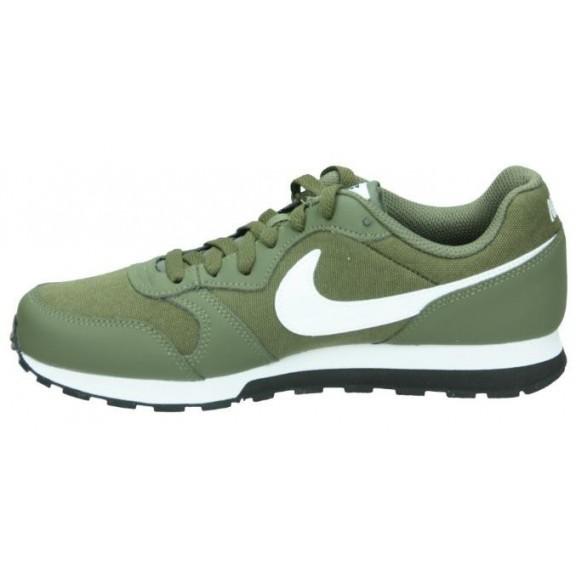 99b4f537e1 Zapatillas Nike Md Runner 2 (Gs) Verde Blanco Junior - Deportes Moya