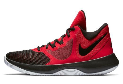 401311d5edd Zapatillas baloncesto Nike Air Precision II roja hombre - Deportes Moya
