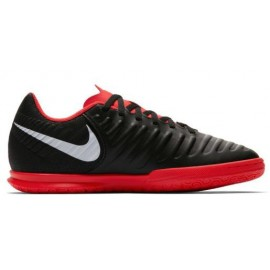 Zapatillas fútbol sala Nike LegendX7 club negro/rojo junior
