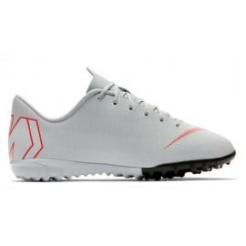 Zapatillas fútbol Nike Vapor 12 academy tf gris junior