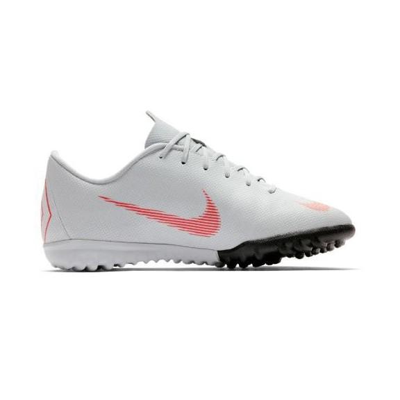 Zapatillas fútbol Nike Vapor 12 academy tf gris junior - Deportes Moya 207fd1d8b355f